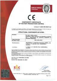 ce bureau veritas en 1090 certification quality ingeniería y construcción