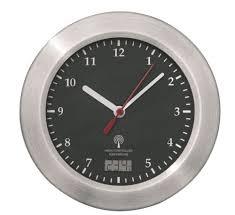 wanduhren mebus funk wanduhr saugnäpfe thermometer uhr 17 cm