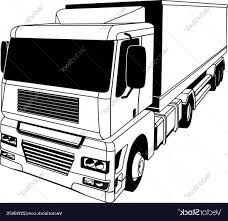 Black And White Semi Vector   ORANGIAUSA Semi Truck Outline Drawing Vector Squad Blog Semi Truck Outline On White Background Stock Art Svg Filetruck Cutting Templatevector Clip For American Semitruck Photo Illustration Image 2035445 Stockunlimited Black And White Orangiausa At Getdrawingscom Free Personal Use Cartoon Transport Dump Stock Vector Of Business Cstruction Red Big Rig Cab Lazttweet Clkercom Clip Art Online Trailers Transportation Goods