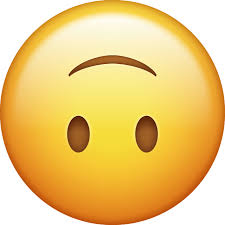Download Slightly Smiling Iphone Emoji JPG Upside Down