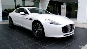 Pearl White Aston Martin Rapide S