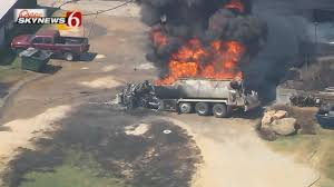 Tanker Truck Catches Fire At Gas Station Near Eufaula - NewsOn6 ... Tanker Truck Fire Kills Driver Temporarily Shuts Down I270 And Hwy 20 Near I80 In Sierra Closed Due To Tanker Truck Explosion One Person Killed Another Injured Collision Fire Pakistan Fuel Kills At Least 140 Fox 61 Explodes Closing I94 Detroit Chicago Tribune Causes Panic California Town Medium Duty Fuel Expertise Gives Up On No One Is Carrying Estimated 8700 Gallons Of Gasoline Burns Three Gnville The Daily Gazette The Rollover Risks Of Tanker Trucks Gas Explosion Employees Scrambles After Explodes Outside Restaurant