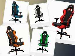 DXRacer RE0NE Ergonomic Office Chair Racing Bucket Seat ...