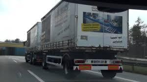 100 German Trucks On Autobahn A7 Part 2 Y LKW Trucking Highway YouTube