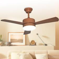 42 Ceiling Fan With Remote by 2018 European American Le Ceiling Fans Lights Led 42 Inches 107 Cm