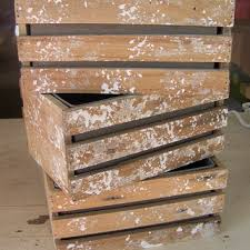 Rustic Wedding Centerpiece Flower Boxes With Tin Liner Favor Container Cottage Chic