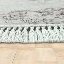 details zu badezimmer teppich set ornamente waschbar gemütlich badvorleger in altrosa creme