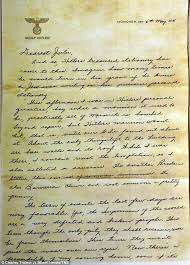 The delightful irony of a Jewish sol r s WWII letter written on