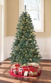 White Christmas Trees Walmart by Holiday Time Green Pre Lit Sonoma Pine Tree Walmart Canada