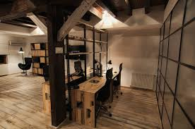 Gallery Of The Exotic Rustic Home Office Design