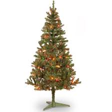 Small Fiber Optic Christmas Tree Sale by Holiday Time Artificial Christmas Trees Pre Lit 32