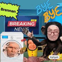 John Brennan Monkey GIF