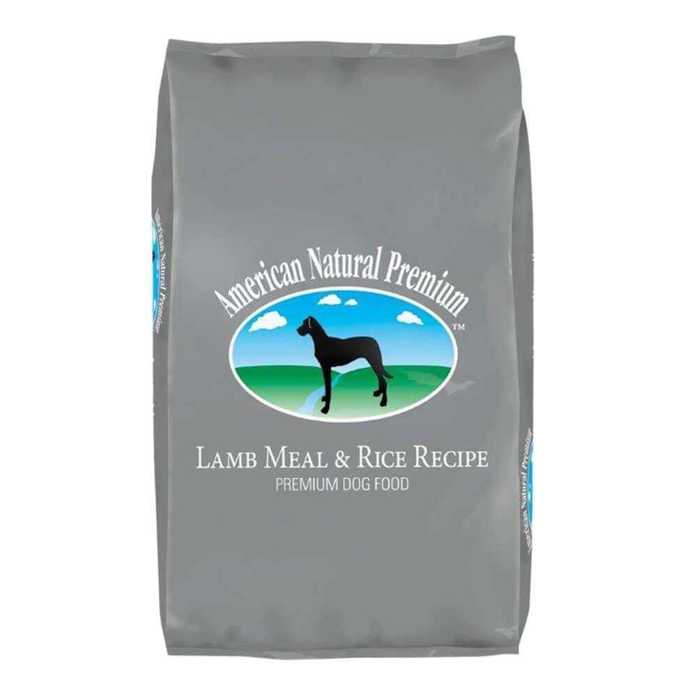 American Natural Premium Lamb Meal & Rice Recipe Dry Dog Food 33lb