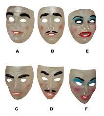 Funny Halloween Half Masks by Purge Masks Ebay