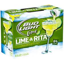 Bud Light Lime A Rita 12 pk 12 fl oz Cans Walmart