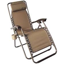 Deluxe Tan Anti-Gravity Lounge Chair