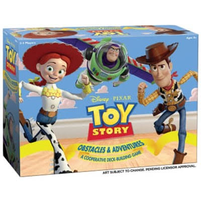 Toy Story Obstacles & ADVENTURES– A Cooperative Deck-Building Game