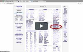 100 Craigslist Cars Trucks Austin Tx CraigsList Training Video 1 On Vimeo