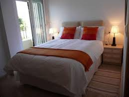 Perfect Queen Size Bed For Small Bedroom Ideas With Contemporary Table Lamps And Classic Nightstand