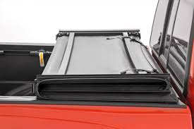 Soft Tri-Fold Bed Cover For 16-17 Toyota Tacoma | Rough Country ... Tonneau Covers Hard Soft Roll Up Folding Truck Bed Bak Industries 162331 Bakflip Vp Vinyl Series Cheap Undcover Cover Parts Find Bakflip F1 Bak 772227rb Cs Coveringrated Rack System Amazoncom 26309 G2 Automotive And Sliding Tri Fold 90 Best Tyger Auto Tgbc3d1015 Trifold Northwest Accsories Portland Or Ultra Flex For Silverado Tyger Trifold Installation Guide Youtube
