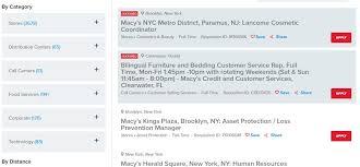 Macy s Job Application & Employment Resources