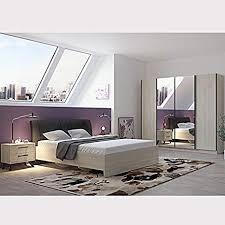 de anya schlafzimmer komplettset modern farbe holz