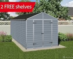 Lifetime 10x8 Shed Canada by New Products Landera Outdoor Storage Sheds And Greenhouses