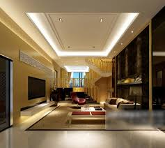 home villa wohnzimmer decke dekor interieur 3d modell max
