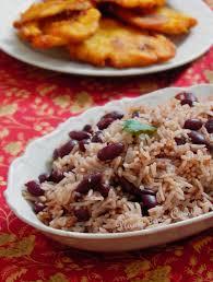 cuisine avec du riz riz collé aux haricots rouges recette haïtienne une plume dans