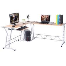 L Shaped Computer Desk Amazon by Amazon Com Tangkula L Shape Computer Writing Work Study Table