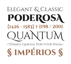 cinzel typeface on behance