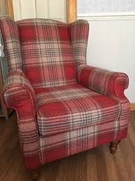 Arm Chair- Next High Back Tartan Chair | In Inverness, Highland ... Armchairs Next Day Delivery From Wldstores How To Strip Fniture For Upholstery Hgtv Sofas And Elisa Enzo Mari Driade Bedrooms Bedroom Side Chair Small Set Brown Check Armchair Ftstool In Woolwich Ldon White Seating Accent Marl Grey Oslo Madecom Wingback Desk Ding Room Chairs Next Michigan Corner Sofa And 2 Seater Snug Chair Bodicote Home Design Beautiful Eclectic Sunroom With Stone Wall Behind Il Loft Arredamento