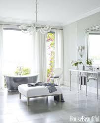 chandelier over bathroom vanity chandelier over bathtub modern