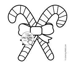 Easy Christmas Coloring Pages 9