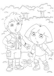 Go Diego Coloring Pages Printable Image