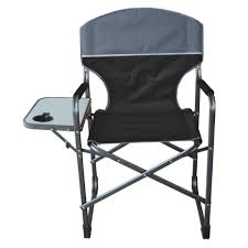 Aluminum Directors Chair With Swivel Desk by Director U0027s Chair With Side Table Sport And Beach Chairs Ace