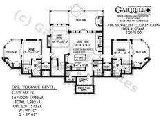 Harmonious Mountain Style House Plans by Harmony Mountain Cottage Hous Plan 06110 1st Floor Plan