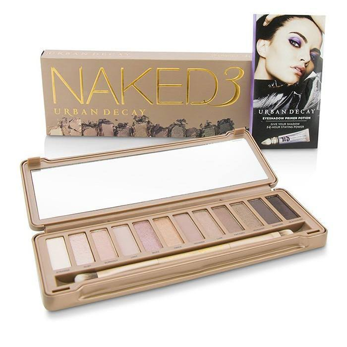 Urban Decay Naked 3 Eyeshadow Palette - 0.05oz, 12 Shades