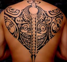Tribal Back Tattoo On TattooChief