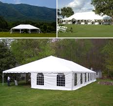 White Tent Rental For Tennessee Weddings By Knoxville Wedding Company Anderson Featured On