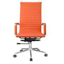 Details About Orange PU Leather High Back Office Chair Ergonomic Computer  Desk Home Workshop Traditional Armchair Fabric Wing Highback Zo Highback Pubg Game Leather Racing Orange And Black Office Gaming Chair Buy Newest Design Ergonomic Fniture Corliving And High Back Sports Fitness Video Chairs Mieres Vinz Mesh Swivel 01 Hot Item Cozy Leisure In Color Armchair With Solid Ash Wood Base Details About Pu Computer Seat Clearance Emall Life Fabric Metal Executive Armrest Amoebehighbackchairvnerpantonvitra3 Jeb Cougar Armor S Luxury Breathable Pair Of Majestic High Back Chair 2490 Each Lythrone