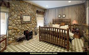 Log Cabin Bedroom Decorating Ideas Rustic Style Theme