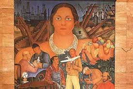 san francisco city guides diego rivera mural at the stock