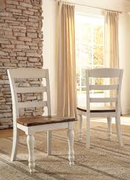 Marsilona Two Tone Dining Room Side Chair Set Of 2