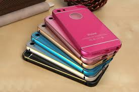 Small thin metel Gel Silicon Phone Case For iphone 5 5s Ultra Thin