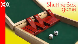 make a wood shut the box game free plans free video wwmm