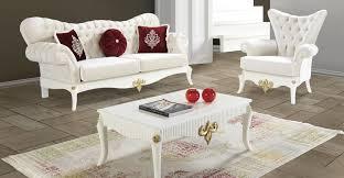 casa padrino barock wohnzimmer set creme weiß gold 2 sofas 2 sessel 1 couchtisch edle wohnzimmer möbel im barockstil