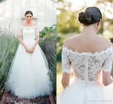 discount aria bohemia 2016 lace beach wedding dresses bateau short