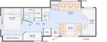 Itasca Class C Rv Floor Plans by Spirit Floorplans Winnebago Rvs