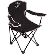 Kmart Beach Chairs With Umbrella by Nfl Oakland Raiders Youth Size Tailgate Chair From Coleman By
